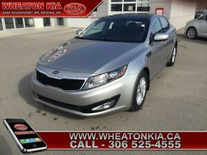 2012 Kia Optima LX+  - one owner - local - trade-in - sk tax pai