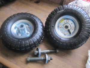 """10"""" wheels with bolts NEW"""