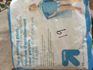 Pull up potty training diapers size 4