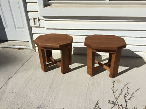 Hand Crafted Side Tables