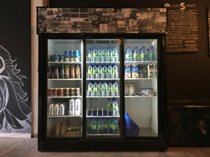 Large 3 Door Industrial Fridge