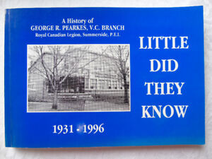 LITTLE DID THEY KNOW   { 1931-1996 } A HISTORY OF ROYAL CANADIAN