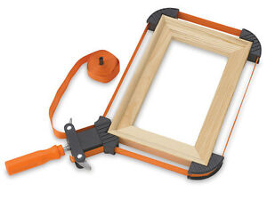 15ft 4m Band Picture Frame Clamp, Woodworking Mirror Drawer Mitre Corner Vice