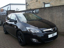 "11 11 REG VAUXHALL ASTRA 1.6 VVT SRI SPORT 5DR 18"" ALLOYS CRUISE AIRCON LOW TAX"