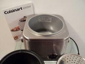 CUISINART RICE COOKER WITH INSTRUCTION & RECIPE BOOKLET-LIKE NEW Cornwall Ontario image 6
