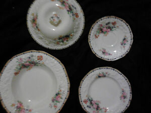 Rare Vintage Crown Ducal China Set