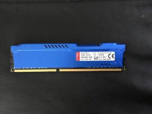 Kingston Hyper X FURY 8GB DDR3 1600 SDRAM
