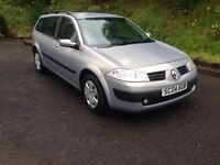Renault Megane 1.4 estate 2004 like focus Astra golf