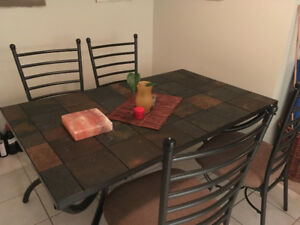 Slate 6 seater dinning table