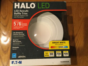 HALO LED Retrofit Baffle Trim  Light Fixture