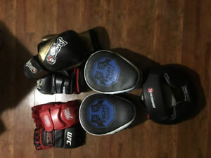 Boxing and mma equipment!!!