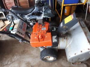 "Craftsman 8HP Craftsman motor 25"" snowblower"
