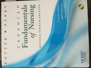 Potter & Perry Canadian Fundamentals of Nursing textbook 4th ed