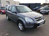 Honda CRV I V Tec Premier Estate, Rear DVD Headrests, Air Con, Sun Roof, Heated Leather, Warranty