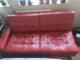 Free sofa bed and table