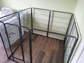 Ellie-bo Large Dog Pen Crate Cage