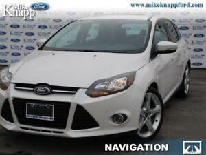 2013 Ford Focus Titanium  - Bluetooth -  Heated Seats