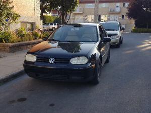 2000 Volkswagen Golf  1300$ Négo