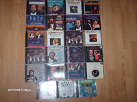 COLLECTION 24 CD LUCIANO PAVAROTTI , COMME NEUF