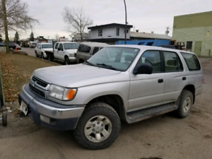 2000 Toyota 4Runner 4x4 Automatic