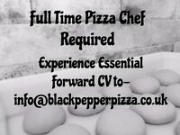 Full Time Pizza Chef Required