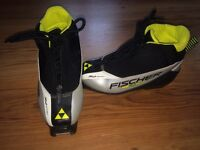 Fischer Boys cross country boots