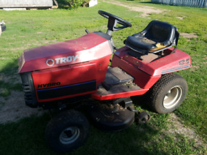 Troy built lawnmower