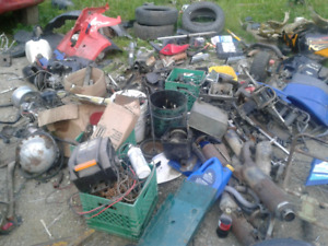 Lot of wheeler parts for sale