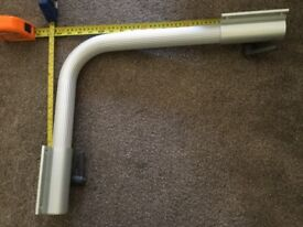 Aluminium 38mm. swing out table leg