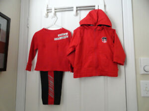 3-Pcs. Boys' Outfit - Size 2 - Very Good Condition