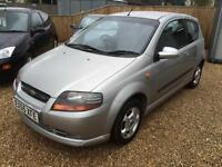 2006 Chevrolet Kalos 1.4 SX Petrol 3 door 60k MOT October 2016