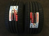 NEW TYRES FITTED . CHEAP DEALS 225 40 18 255 35 18 225 45 17 215 55 16 205 55 16 215 45 17 TIRES