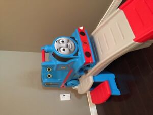 Thomas the Train Up & Down Roller Coaster Ride-On