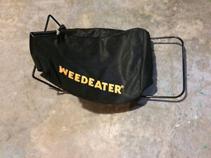 Weed eater grass catcher
