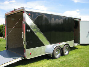 All Aluminum 16 ft. Utility Trailer