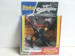 Vintage Dinky dieacst Trident Starfighter,sealed in pack
