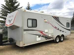 2008 Forest River Work & Play 22Sk - Toy Hauler