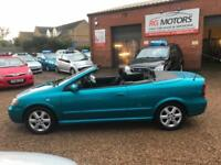 2004 Vauxhall/Opel Astra 1.8i 16v Coupe Cabriolet, Blue, **ANY PX WELCOME**