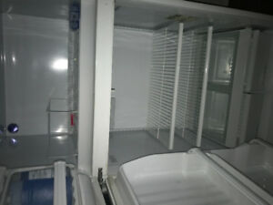 White used fridge in working condition