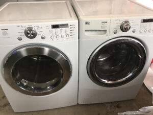 LG Tromm large capacity electric washer and dryer