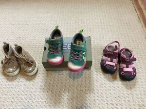 Toddler sneakers and sandals