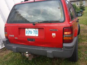 1994 Jeep Grand Cherokee Diesel SUV, Crossover