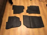 Audi A1 rubber mats - front and back