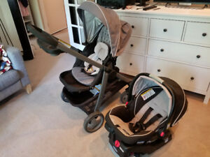 Graco Click Connect Stroller + Car Seat