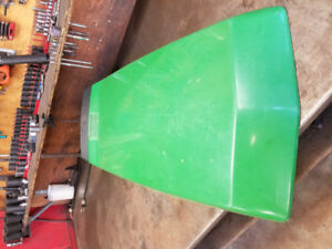 John Deere 425, 445 or 455 hood with hinge in good shape.