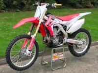 2013 Honda CRF450R Motocross 4 Stroke 450cc Motorcycle