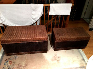 Wicker Storage Containers/Baskets