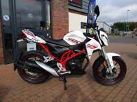 SINNIS RSX 125cc EFI - BRAND NEW LEARNER LEGAL - £45.22 PER MONTH !!!