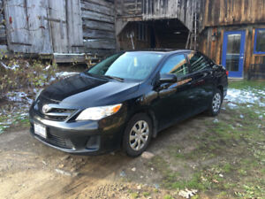 2012 Toyota Corolla with only 102,000km