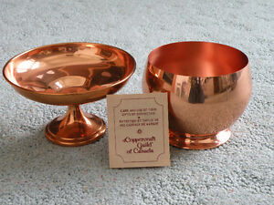 Coppercraft  Bowl & Candy Dish